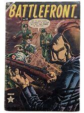 Battlefront #13 (Sept 1953, Atlas) VG 4.0 Joe Maneely cvr