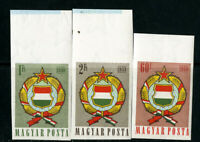 Hungary Stamps # 1190-20 XF OG NH Imperf