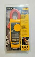 🔥Fluke 324 Plus Professional True Rms Ac/Dc Clamp Meter Temperature Volt