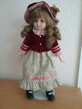 "PORCELAIN DOLL  - 15"" WITH STAND"