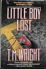 LITTLE BOY LOST BY T.M. WRIGHT  (1992, Hardcover)