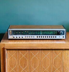 Vintage Philips Amplifier Receiver 732 wooden casing mid century modern