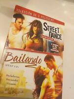 DVD  lote STREET DANCE Y BAILANDO  DOS PELICULAS
