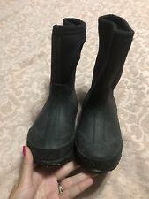 Bogs Glosh Boots Size 11 Black