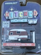 Greenlight  Hitched Homes Series 2 Catolac Deville travel Trailer Camper.