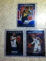 2019 Prizm Draft All Americans Red White & Blue /99 Ja Morant & RJ BARRETT x2 RC