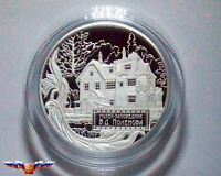 Russia 25 rubles 2012 Museum-Estate of V.D. Polenov Silver 5 oz PROOF
