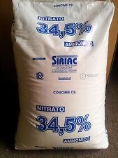 Concime nitrato ammonico 34% azotato solubile 25 kg   ORTO PIANTE DA FRUTTO