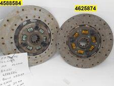 Kit composto da 2 dischi frizione motore per Fiat iveco 619 Fiat 180 Fiat 697