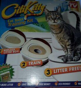 CitiKitty Cat Toilet Training Kit (One Pack) As seen on TV Train Catnip