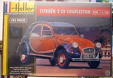 1983 Citroen 2 CV Ente Charleston & Dolly 1:24 Heller 80766