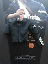Hot Toys Star Wars Rogue One chirrut imwe chemise bleue & ARMOUR loose échelle 1/6th