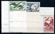 GUYANE 1947 Yvert PA 35-37 ** POSTFRISCH TADELLOS ECKRAND (D5499