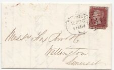* 1854 27 OTT Bristol Cucchiaio CANDY & BOMBICE della Serge per FOX & Co. a Wellington