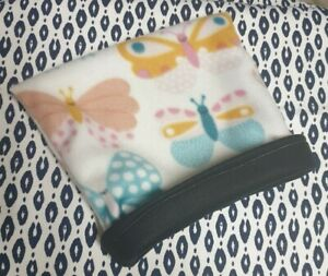 Snuggle Pouch Cuddle Pouch Bag Sack Ideal For Guinea Pig Rat  - Butterfly Design