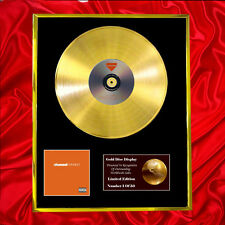 FRANK OCEAN CHANNEL ORANGE CD  GOLD DISC VINYL LP FREE SHIPPING TO U.K.
