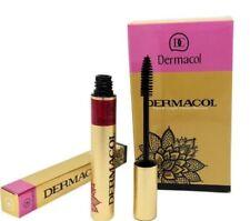 DERMACOL Care & Length Waterproof High Volume Mascara Lashes Black Colour UK