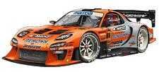 Mazda RX-7 Orange Drifting Cartoon Car Art Garage Wall Decal Sticker Graphic