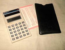 älter: Sharp EL-345 Taschenrechner / Solar / in Etui