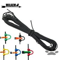 10 Foot Archery Nocking D Loop Rope Compound Bow String Cord Release Material 3M