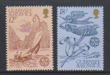 Guernesey - 1981, Europa, Folklore Ensemble - MNH - Sg 230/1