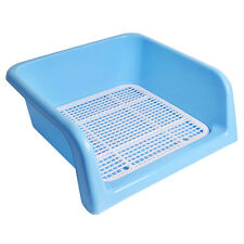 New Indoor Dog Puppy Pet Potty Toilet Pee Trainning Pad Tray Blue 41cm x 41cm