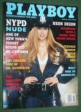 Playboy Aug 1994 POM Maria Checa NYPD Nude Dr Kevorkian Deion Sanders interview