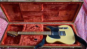 Fender Road Worn 50s Telecaster 2010 MIM Blonde Fender vintage tweed case