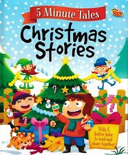 5 Minute Tales Christmas Stories. Igloo Books. Children's Book Reading Gift