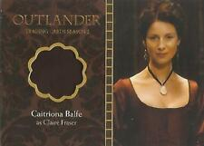 """Outlander Season 2 - M01 Caitriona Balfe """"Claire Fraser"""" Wardrobe Card"""