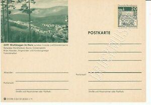 P 99 Bildpostkarte Imprimer Échantillon Wolfshagen Résine