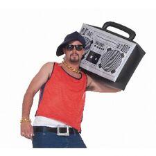 "24"" JUMBO INFLATABLE BOOM BOX Ghetto Blaster Radio Blow Up 80's Hip Hop Stereo"