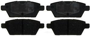 Disc Brake Pad Set-Ceramic Disc Brake Pad Rear ACDelco Advantage 14D1161CH