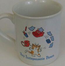 Coffee Mug Office Sarcastic Humor Funny Whimsical Hallmark 1985