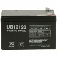 UB12120 F2 D5775 E5005 12V 12 Volt 12AH SLA Sealed Lead Acid AGM Battery NEW