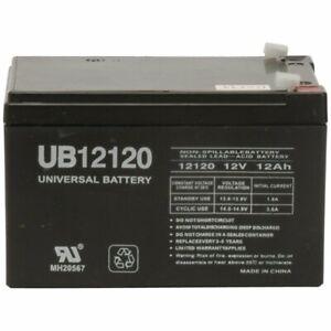 UPGRADE Replacement 12 Volt Battery 4 Peg Perego DJW12-12 DMU12-12 w/ WARRANTY!