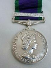 Campaign Service Medal With Northern Ireland Clasp -2437730 PTE T J LOWRY UDR.