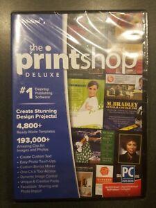 New Broderbund The Printshop Deluxe  Version 4  Windows Design & Photo Editing