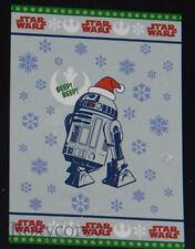 Christmas Disney Star Wars R2-D2 Plush Blue Bed Blankets 62x90 Nib