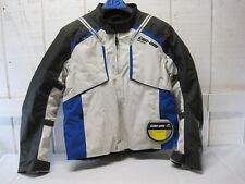 New BRP Can-am Mens Caliber Riding Padded Jacket Coat Blue Black Large #C13