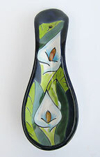 """MEXICAN POTTERY SPOON REST 9 1/2"""""""