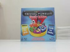 brand new Trivial Pursuit cards for adults Family Edition hasbro Board Game 8+
