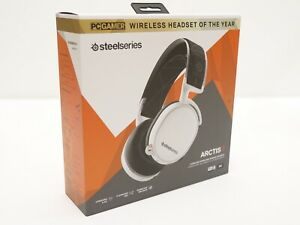 NEW STEELSERIES ARCTIS 7 WHITE Wireless Gaming Headset DTS Lossless 2019 Version