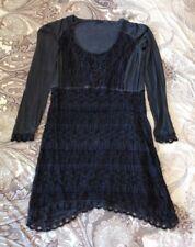 Tredy Damenn Kleid mit Zipfel dunkelblau Größe 36