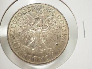 10 Zlotych Silver Poland ND(1933)(w) Y# 23 # 3-338