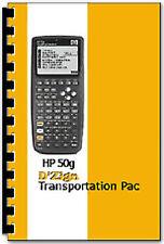 Transportation Pac Software v2 for HP-50G Calculator