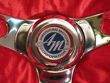 "AMC AMX JAVELIN HORNET MATADOR GREMLIN REBEL AMBASSADOR 13.5"" STEERING WHEEL"