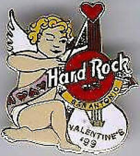Hard Rock Cafe SAN ANTONIO 1999 VALENTINES DAY PIN Cupid