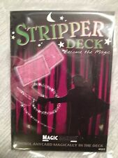 Magic Stripper Deck of Playing Cards - Poker Size - As Seen On TV Card Magic