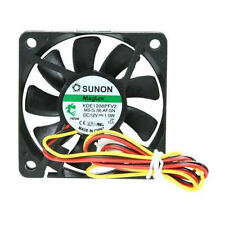 Sunon KDE1206PFV2 60mm x60mm x 10mm MagLev Fan, 3Pin